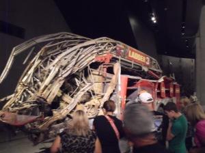 Burnt Fire Truck