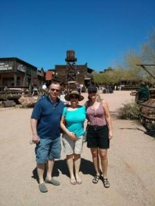 Jeff,Wendy,Jackie at Lost Dutchman Mine