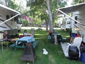 Great camping at Daisy May Campground