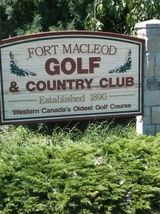 I had to golf the oldest golf course in west of Winnipeg. Lowest score ever !!!