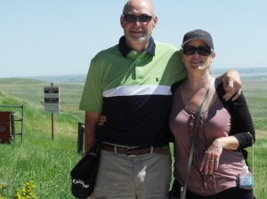 Larry & Jackie at Heads Smashed in Buffalo Jump
