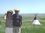 Larry & Anita at Heads Smashed In Buffalo Jump