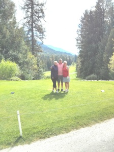 Our day Sept 8th  Kokanee Springs Golf
