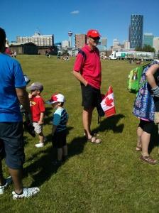Mr Canada and Mr Canada Jr.