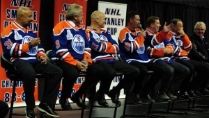 Oiler Hall of Famers