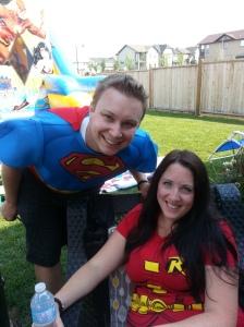 Sean & Shannon.  Even the grownups were hero like !!