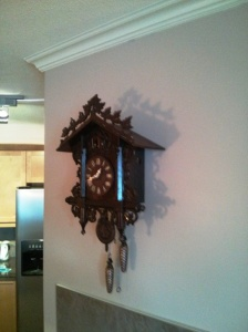 My Grandad's Cuckoo Clock from the 1850's