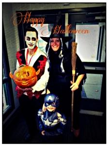 Halloween 2014 Victoria, Corey and Jackson