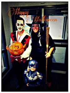 Halloween 2014 Victoria, Corey and Jackson