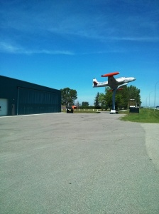 First stop Nanton Air Museum