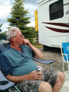 Now this is what camping, retirement, and living is about.