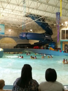 The WAVE pool going strong