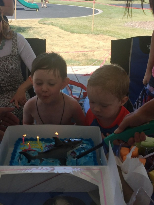 Jackson's 4th Birthday party
