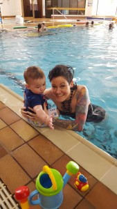 Swimming lessons already