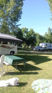 Our Nanton Campground