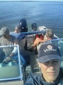 Selfie fishing