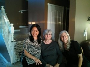 Maryann, Audrey and Jackie