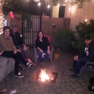 backyard christmas