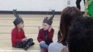 Jackson was a Deer for the play