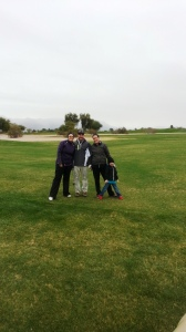 Golfing. Mesa is getting hit with a cooler than average spell.
