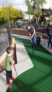 A grand mini golf experience