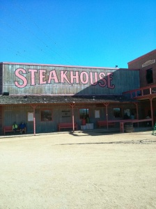 Rawhide steak house