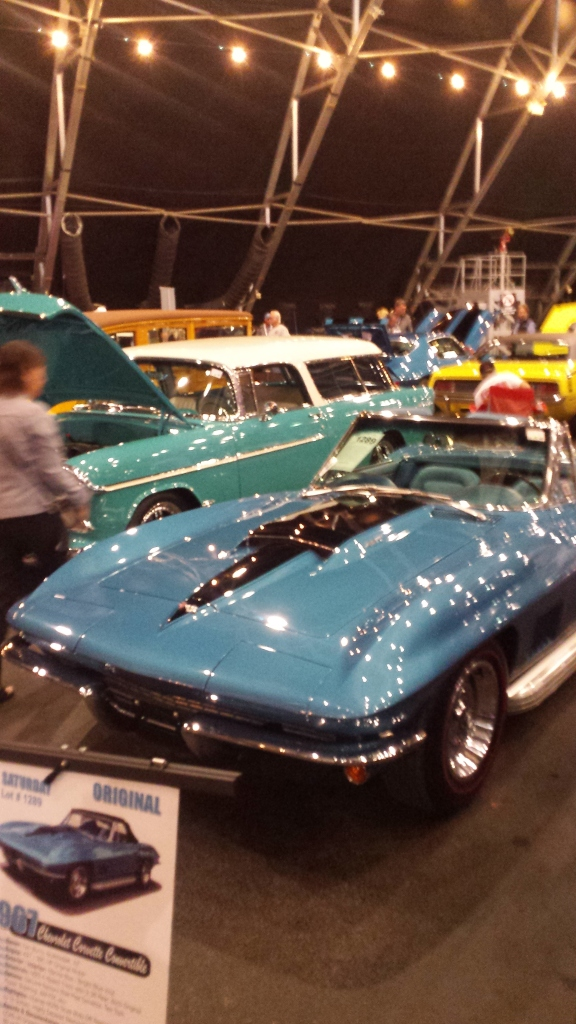 First time to the Barrett Jackson Auction