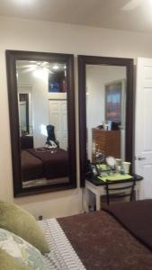 This is Jackie's new vanity mirrors. LOL