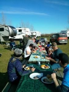 camping potluck