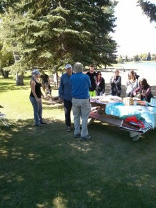 Midnapore Lake party