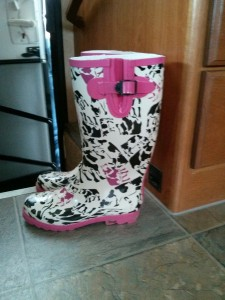 Jackies new boots