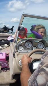 Fast fun boat ride