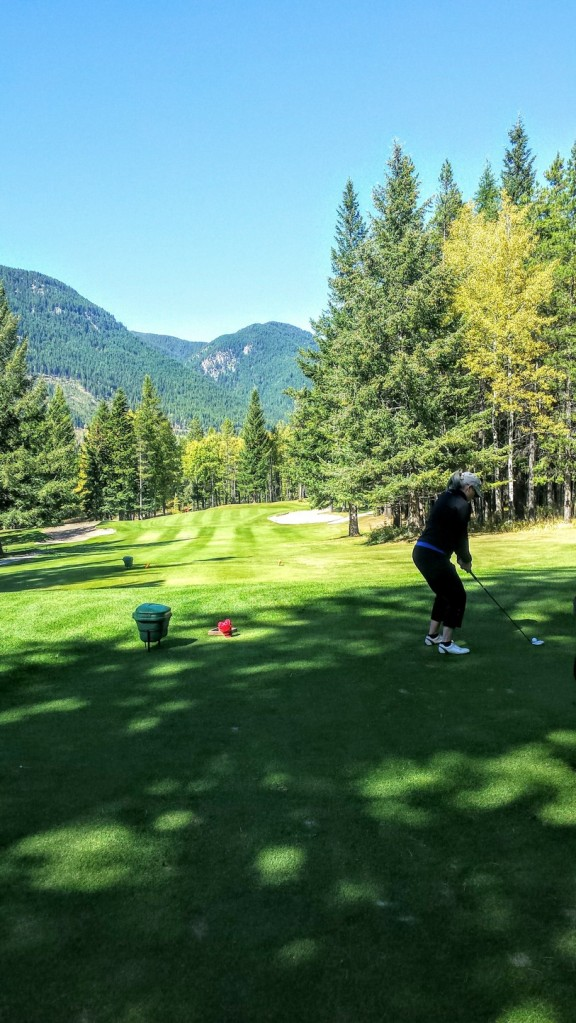 Golfing Sparwood