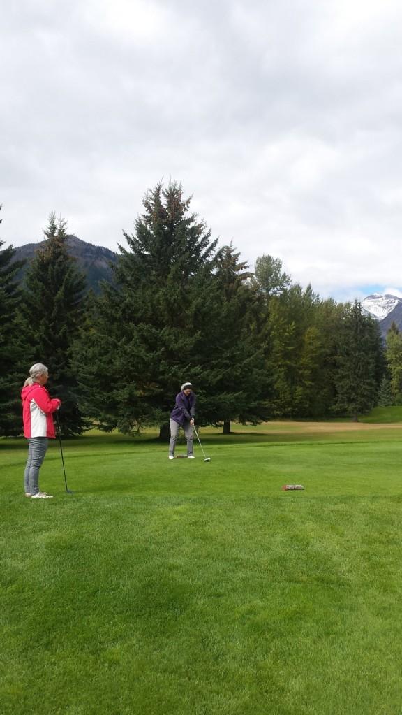 Golfing Fernie