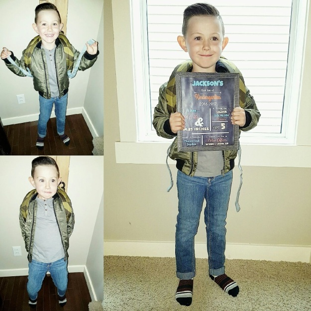 Jackson's first day