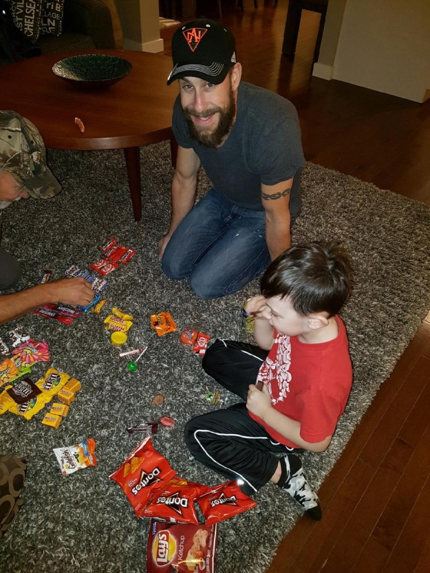 Sorting out the candy