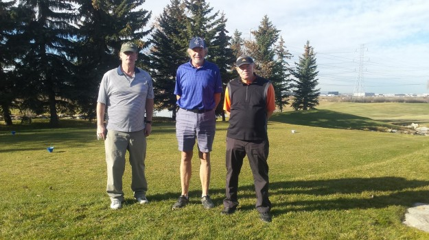Golfing in SHORTS on Nov 4th in Calgary . Love it !