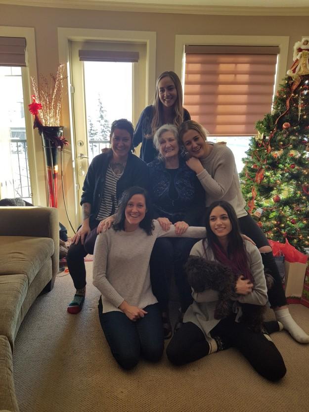 Audrey & the grandgirls