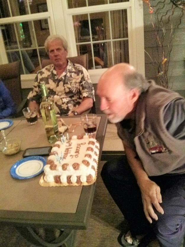 One huge cake !
