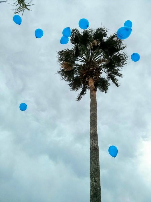 The Memorial Balloon release